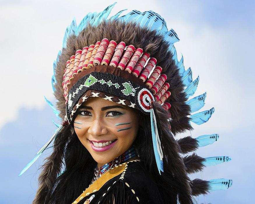 アメリカの原住民、なぜインディ...